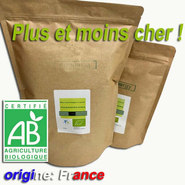 Livraison optimale: 1700g blanc d'oeuf bio (code 0)