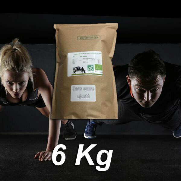 Protéine Lait Native Bio Sans Lactose (origine: France) - 6 Kg