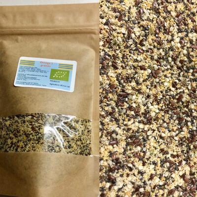 Oméga 3 BIO: chia, lin et chanvre en 250 g (graines)