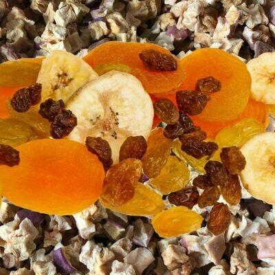 Mélange fruits secs en 2 X 100 g ou 1 x 200 g