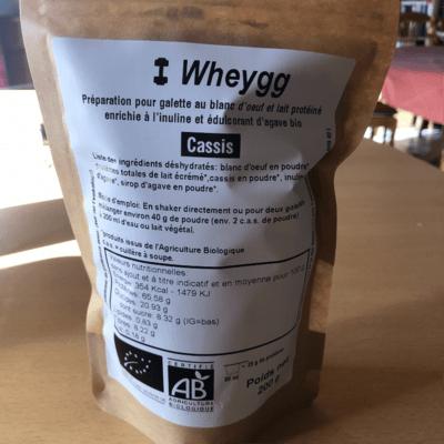 Wheygg (toute notre gamme): Échantillon de 200 g