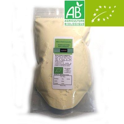 Eggprotéine: Échantillon de 200 g Bio - Code 0