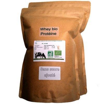 Protéine Native Bio Nature (origine du lait: France) 2 kg