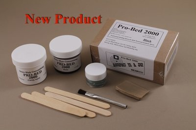 Pro-Bed 2000 Single Rifle Bedding kit with Black Resin.