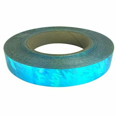 Aqua Splash Holographic Tape