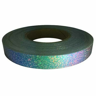 Holographic Sequin Tape, Red Galaxy