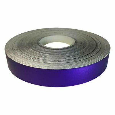 Purple Pizzazz Satin Lustre Decorative Tape