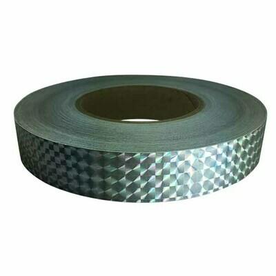 Prismatic Tape, Silver