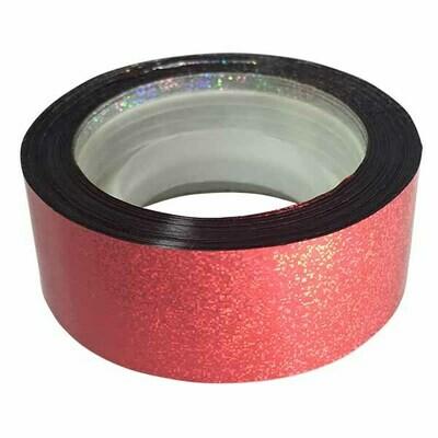 Budget Metallic Dust Tape, Red