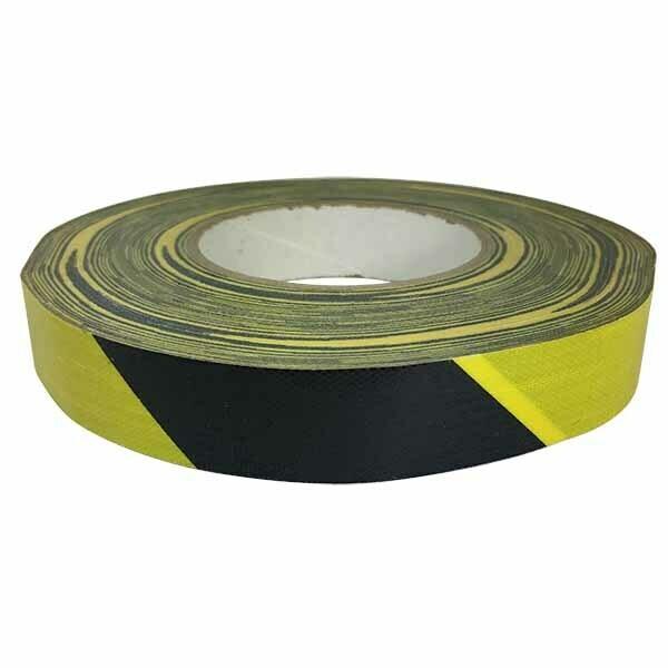 Black & Yellow Striped Hazard Duct Tape