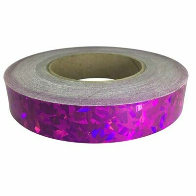 Holographic Tape, Crystal Fuschia Fusion