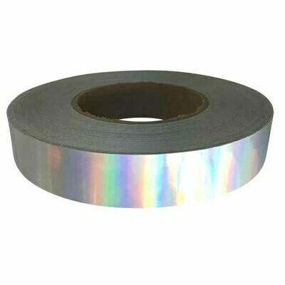 Holographic Tape, Silver Rainbow Sheen