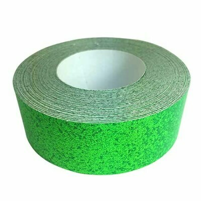 Glitter Tape, Fluorescent Green