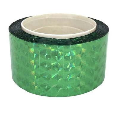 Budget Metallic Green Prism Tape
