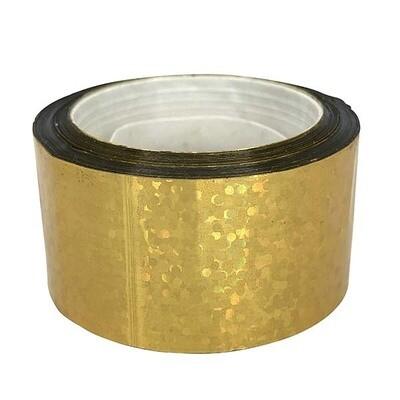Budget Metallic Gold Sequin Tape
