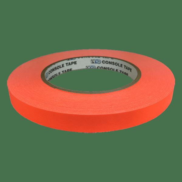 Matte Artist & Board Tape, Fluoro Orange