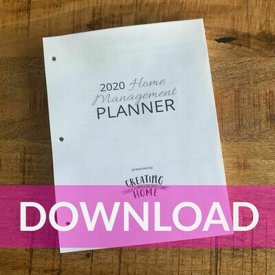 2020 HM Planner: DOWNLOAD
