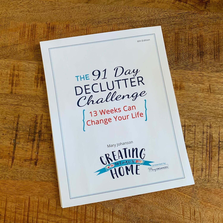 Declutter Challenge: Printable Guide Digital Download