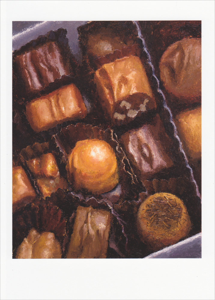 'Box of Chocolates' Notecard