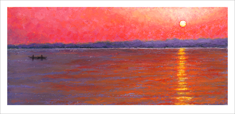 'Varanasi Sunrise' Giclée