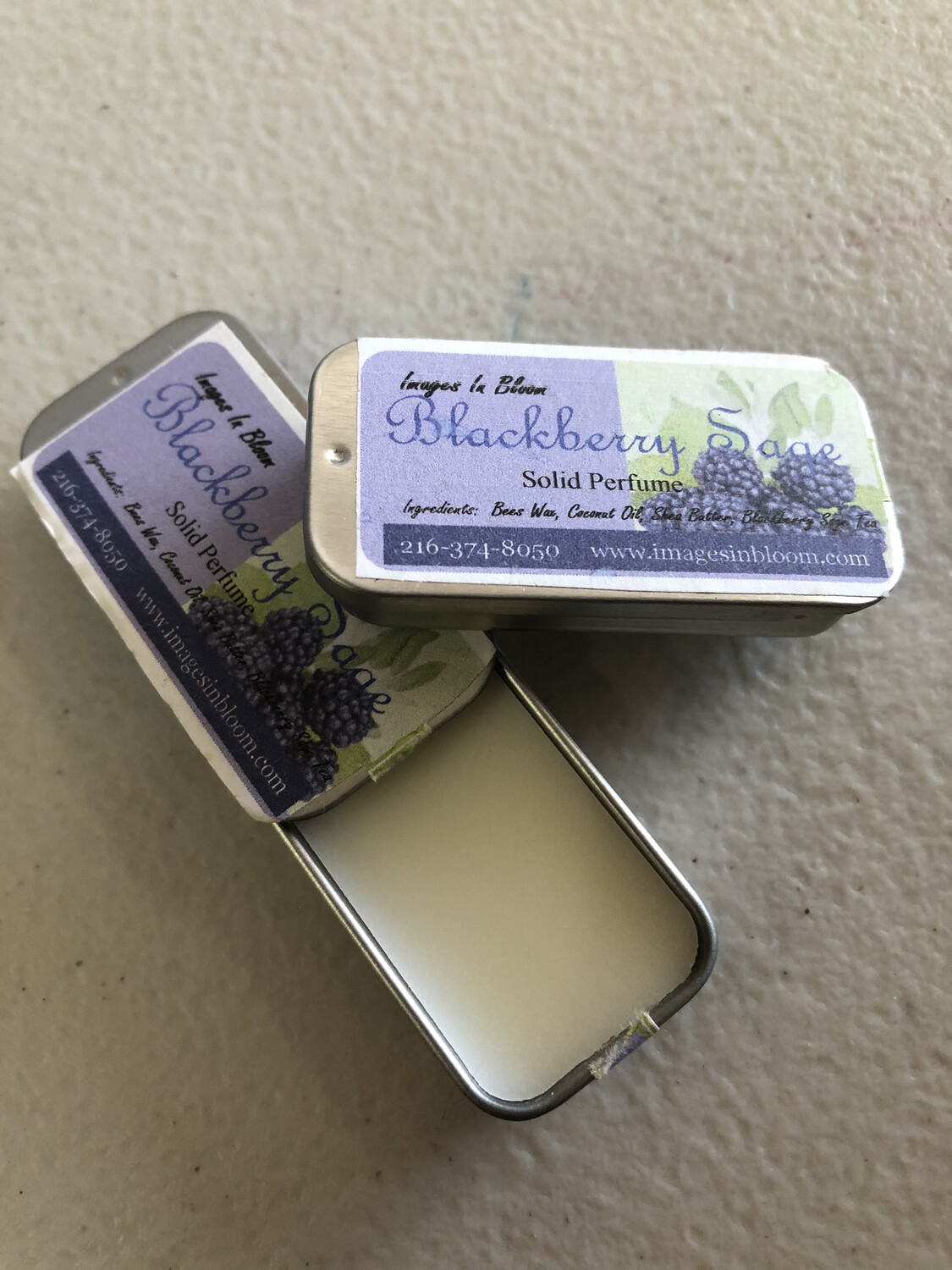 Blackberry Sage Solid Perfume
