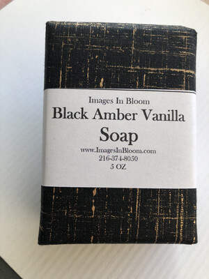 Black Amber Vanilla Soap