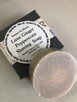 Lime Ginger Peppercorn Shaving Soap 🪒