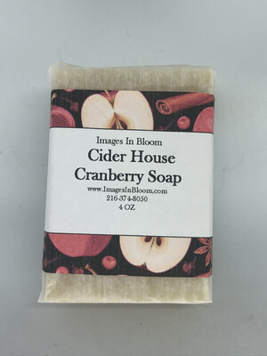 Ciderhouse Cranberry Soap