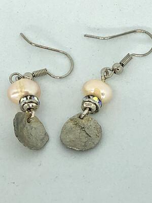 Silk Cocoon Pearl Drops Earrings