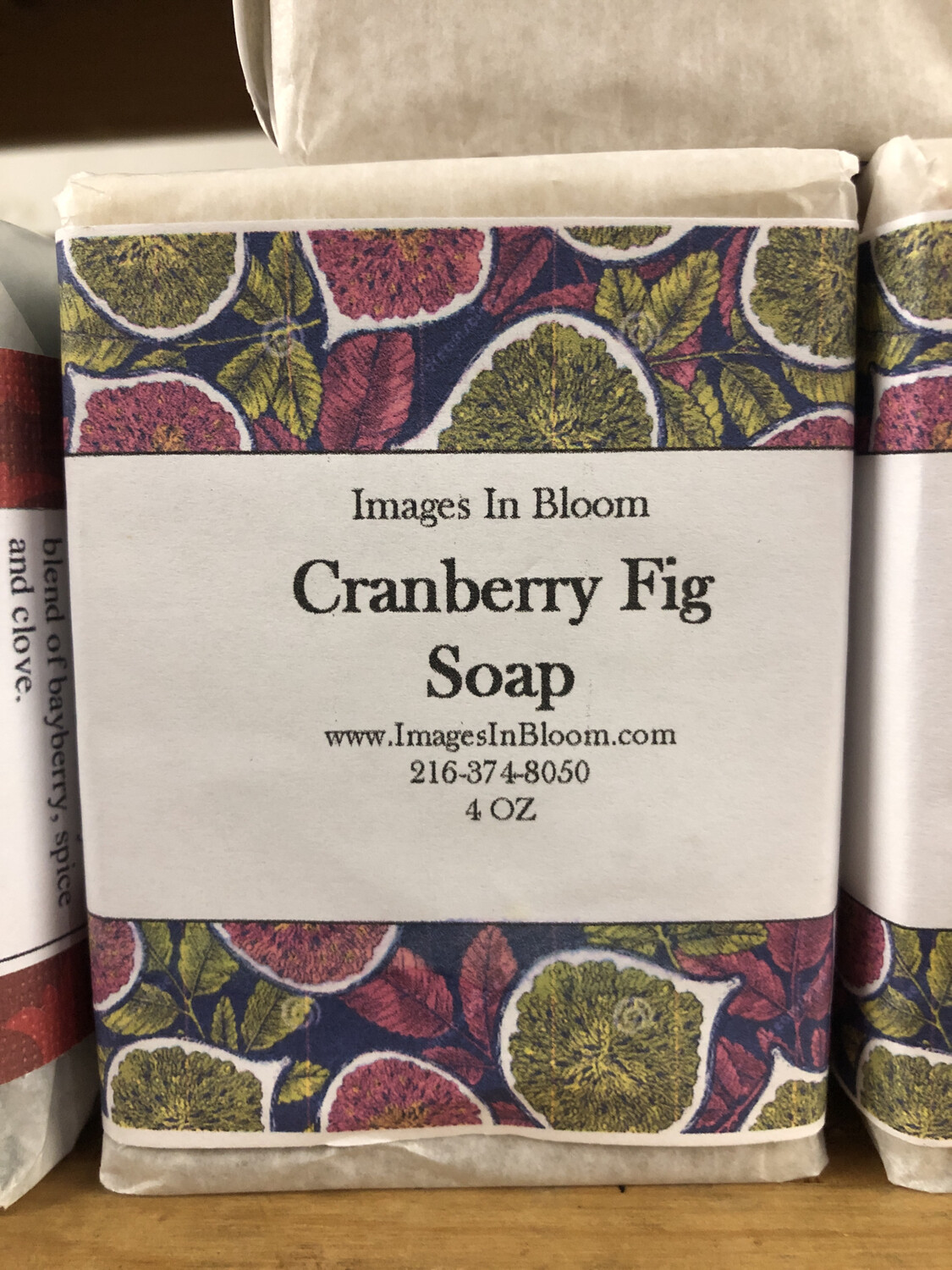 Cranberry fig Soap 🎄holiday