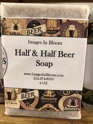 Half and Half Soap 🍺