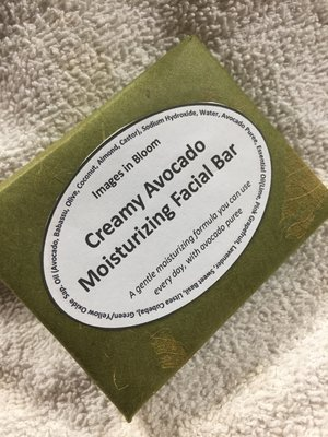 Avocado Moisturizing Facial Bar