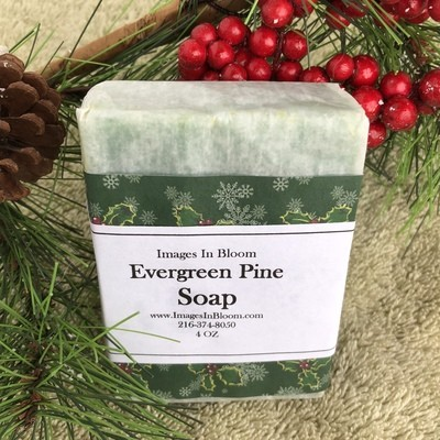 evergreen pine soap