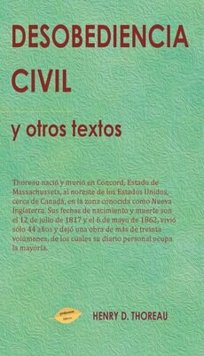 Desobediencia Civil y otros textos EBOOK