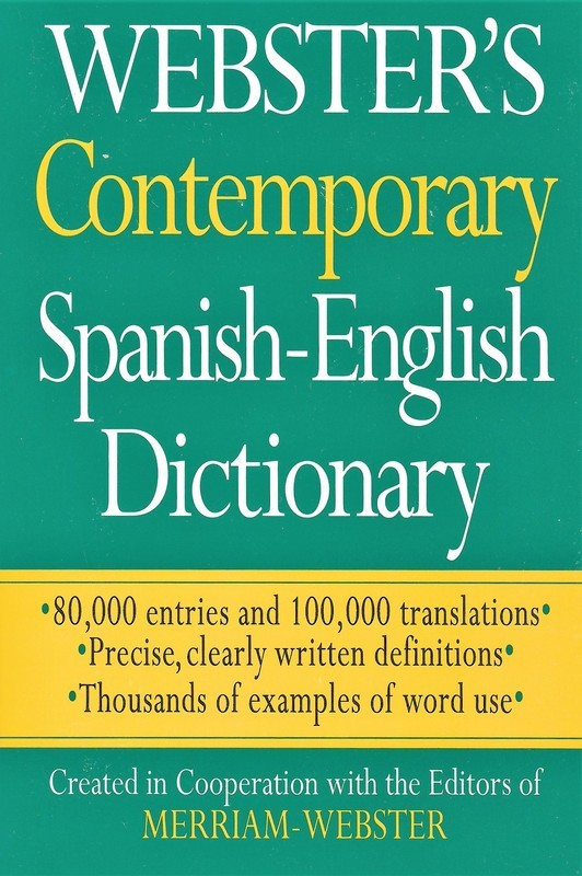 Webster's Contemporary Spanish-English Dictionary (Spanish Edition) (Spanish and English Edition)