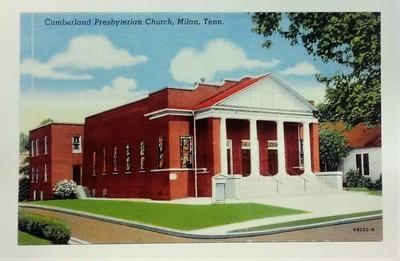 Milan C P Church Postcard
