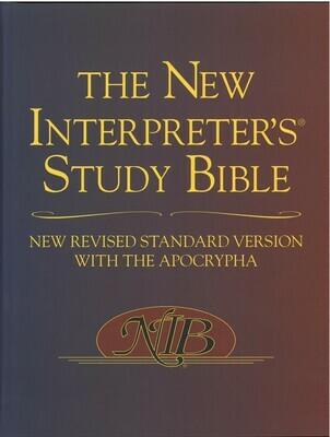 New Interpreter's Study Bible, The NRSV