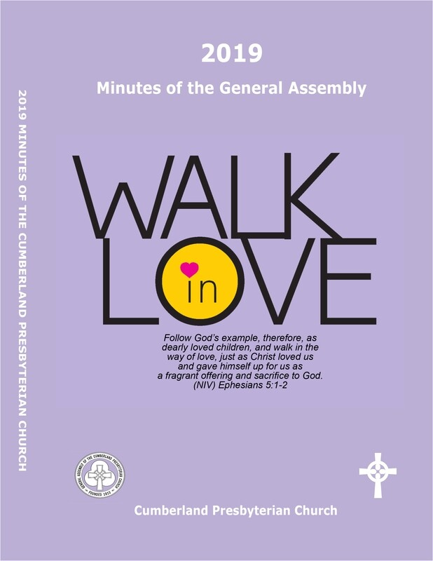 2019 Minutes of the General Assembly of the Cumberland Presbyterian Church