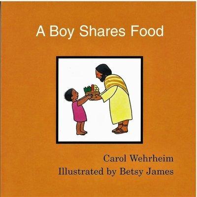 A Boy Shares Food