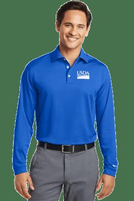 Nike Long Sleeve Dri-FIT Stretch Tech Polo