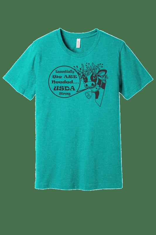 BELLA+CANVAS ® Unisex Heather Sea Green Short Sleeve Tee  REGULAR PRICE  $21.00