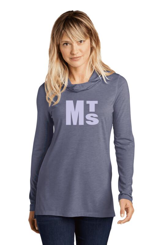 Sport-Tek ® Ladies PosiCharge ® Tri-Blend Wicking Long Sleeve Hoodie with Initials