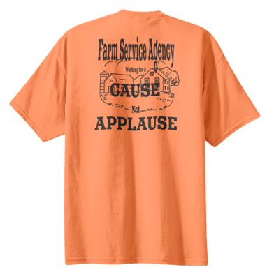 Working for a Cause Not Applause  REGULAR PRICE  $17.00