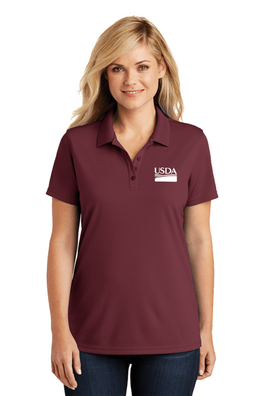 Ladies Dry Zone Micro Mesh Polo  Custom Embroidery Available