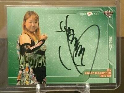 Tomoko Watanabe 2016 BBM Joshi True Heart Autograph /99