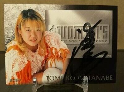 Tomoko Watanabe 2002 Future Bee Autograph Card