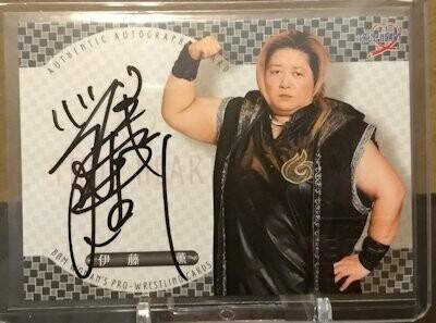 Kaoru Ito 2019 BBM Joshi True Heart Autograph /98