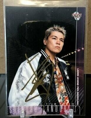 Shinobu Kandori 2003 BBM Joshi True Heart Autograph /120