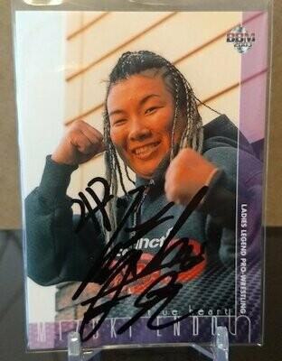 Mizuki Endo (Eiger) 2003 BBM Joshi True Heart Autograph /120