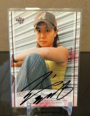 Yuu Yamagata 2007 BBM Joshi True Heart Autograph /100
